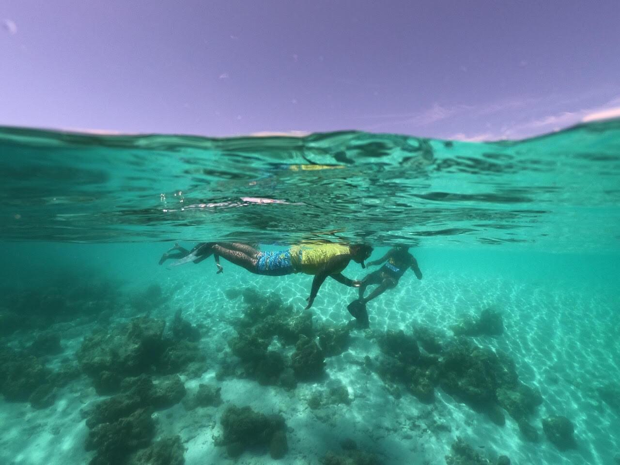 Snorkelling adventures Maldives 1