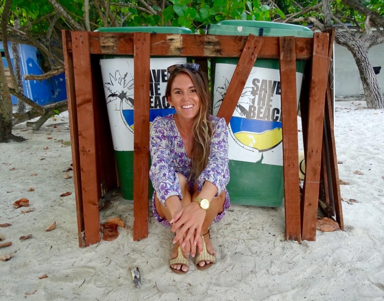 Save The Beach Villingili Malives you.theworld.wandering