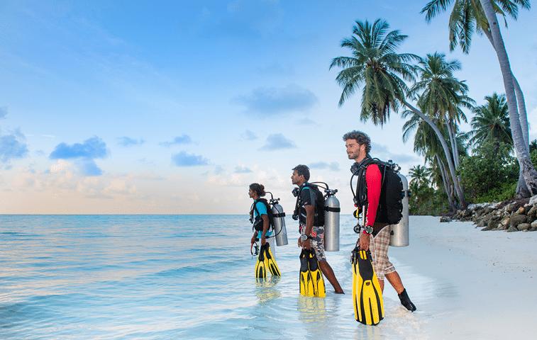 Dive local Laamu Atoll image